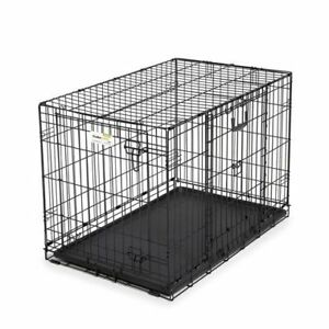 xl dog crate two doors excellent condition