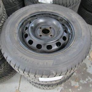 2008 Honda FIT Winter Tire Package On Rims Size 185/70/14 (2u00262