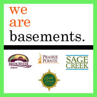 BASEMENTS. IT'S WHAT WE DO!