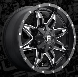 20'' Fuel Off Road Wheels Dodge Ram Toyota Tundra Wheel Rim 20