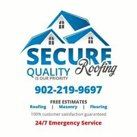 SECURE ROOFING 15% off this summer! 10 year workmanship warranty