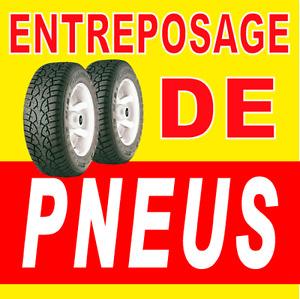 Entreposage de pneus à Québec à partir de 28$+tx!