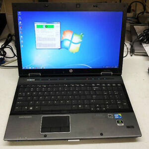 """Intel Core i7 Gaming Nvidia Laptop 15.6"""" Dell Or HP"""