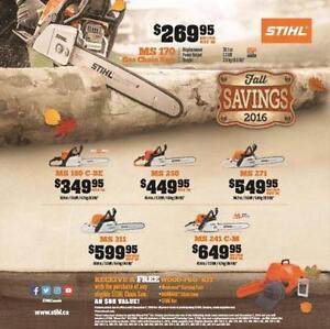 Stihl 2016 Fall Savings Event