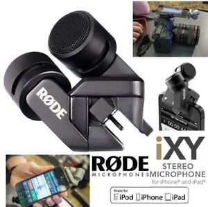 NEW RODE I-XY CONDENSER MICROPHONE FOR APPLE LIGHTING CONNECTOR