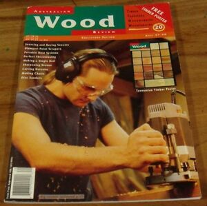1998.Australian WOOD REVIEW Issue 20.WOODWORK.Furniture+ Tasmania Timbers POSTER
