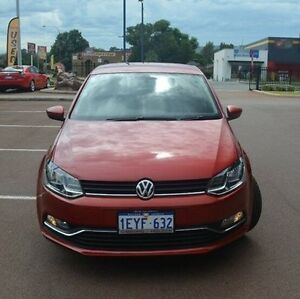 2016 Volkswagen Polo 6R MY16 81TSI Comfortline Red 6 Speed Manual Hatchback Gosnells Gosnells Area Preview
