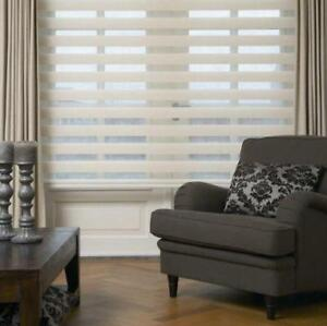 Window covering.. Blinds..Drapery,,Shades,,,Zebra,Quick Installation,Best Price,Shop at home service**,416 518 1052**