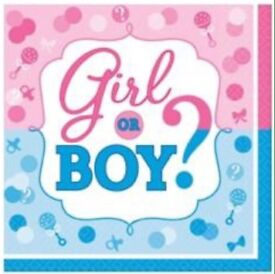 Boy or girl napkins