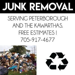**** Junk Removal - Spring Clean-up **** Peterborough Peterborough Area image 1