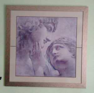 51 x 51 inches Framed Wall Art