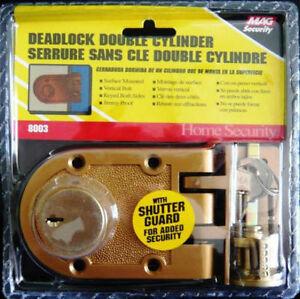 Double Cylinder Jimmyproof Deadlock Door Locks