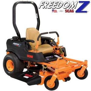 "SCAG FREEDOM Z 48"" ZERO TURN MOWER"
