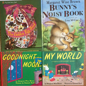 Picture books by MARGARET WISE BROWN $3 each or all 4 for $10