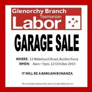 Garage Sale - Austins Ferry