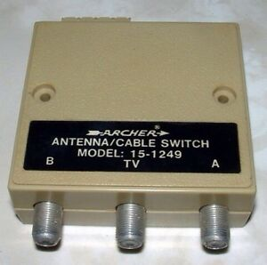 ARCHER SWITCH TV VCR switcher London Ontario image 1