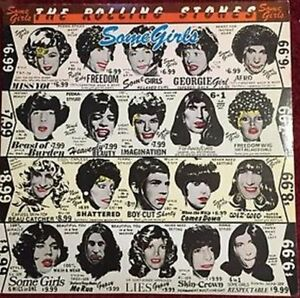 ROLLING STONES Vinyl Album - Some Girls *RARE Withdrawn Cover*
