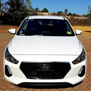 2017 Hyundai i30 PD MY18 Active White 6 Speed Sports Automatic Hatchback Dingley Village Kingston Area Preview