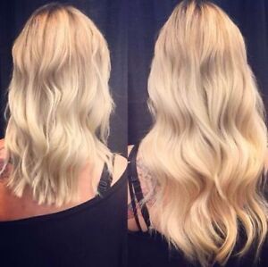 100% HUMAN REMY HAIR CLIP IN EXTENSIONS GRADE 7A STOCK & CUSTOM