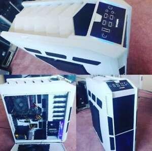 GAMING PC GAMER 480 gb ssd/16g ram/gtx 680/i7-2600 neuf