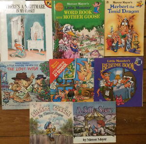 LITTLE MONSTER books & more by MERCER MAYER $3 each or all 8/$20
