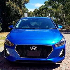 2017 Hyundai i30 PD MY18 Active Blue 6 Speed Sports Automatic Hatchback Dingley Village Kingston Area Preview