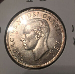 Uncirculated King George Silver Dollar
