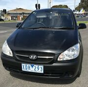 2009 Hyundai Getz TB MY09 S Black 4 Speed Automatic Hatchback Keysborough Greater Dandenong Preview