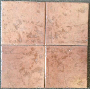 30 Cents / Pc - 6.5X6.5 Montefeltro Red Porcelain Tile