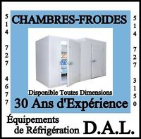 *WALK-IN Cooler*BEST PRICE*CHAMBRES FROIDES*MEILLEURS PRIX*