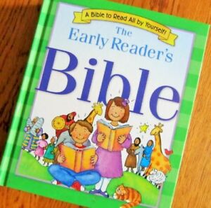 """The EARLY READER'S BIBLE""... A Bible to Read all by Yourself"