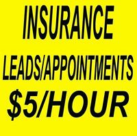 LIFE INSURANCE TELEMARKETING SERVICES Guaranteed Leads