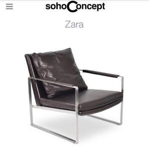 Occasional Zara chair by sohoConcept Floor Model lounge chair!