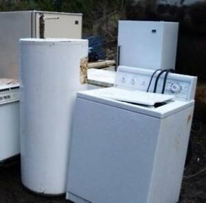FREE PICKUPS OF OLD APPLIANCES AND METALS