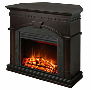 "Muskoka 23"" Full View Electric Fireplace with Corner Option"
