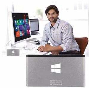 Quad core mini PC Laptop Desktop Portable build-in battery wifi hdmi DDR3 for office movie youtube