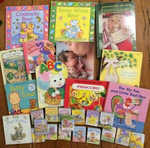 BIG BAG OF BOARD BOOKS - 27 books for $15