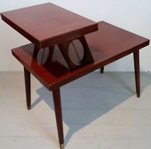 RARE Vintage SPACE AGE Coffee Side TABLE Antique