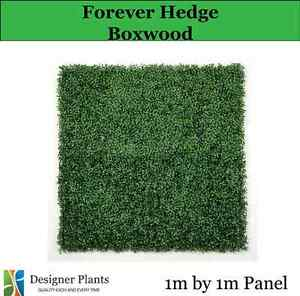 Artificial Vertical Garden Wall Hedge Screens 1m x 1m Many Styles