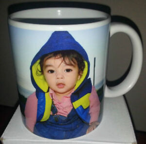 Personalized Pictures and Logos on Ceramic Coffee Mugs-Brampton