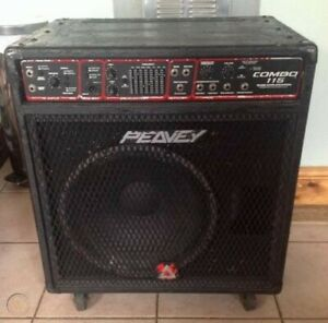 "Peavey Combo 115 cw 15"" Black Widow Reduced $50"
