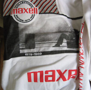 MAXELL TAPE AUDIO COLLECTORS SHIRTS Kitchener / Waterloo Kitchener Area image 3