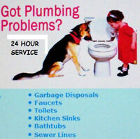 PLUMBER 17 YEARS EXPERIENCE NO JOB TO SMALL SERVICE RATES $65/HR