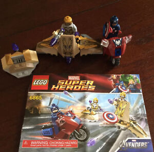 Lego Super Heroes Captain Americas Avenging Cycle (6865)