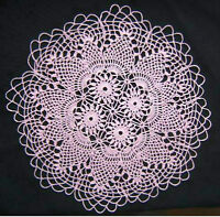 Crocheted doily sale