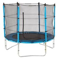 8 ft Trampoline with enclosure.... mint condition