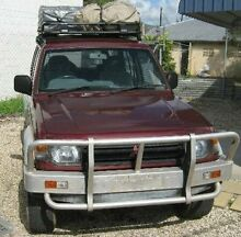 1993 Mitsubishi Pajero NH GLS Maroon 5 SPEED Manual Wagon Bungalow Cairns City Preview