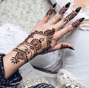 Simple beautiful and elegant henna designs Windsor Region Ontario image 3