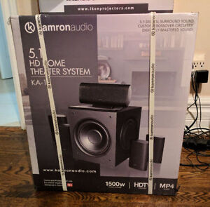 BRAND NEW - KAMRON 5.1 HD HOME THEATRE SYSTEM !