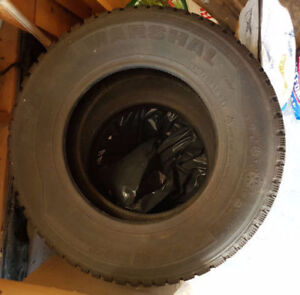 Winter Tires Excellent Condition Size 195/70R 14